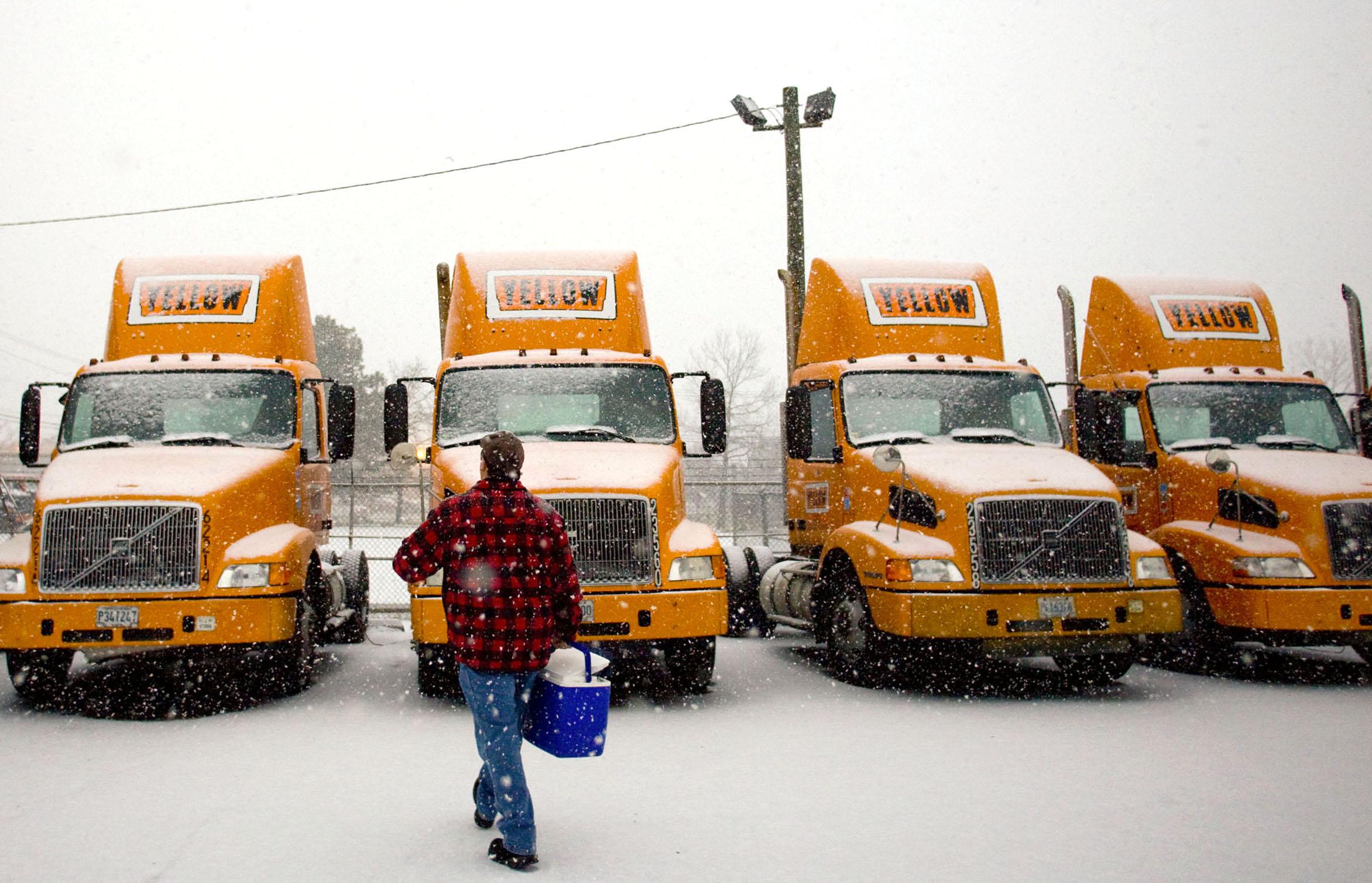 Yellow Freight Trucking